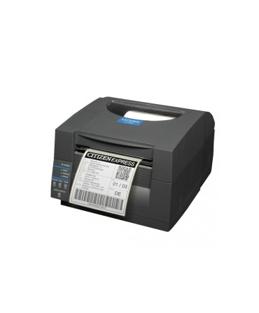 CLS521IINEBXXE Citizen CL-S521II, 8 punti /mm (203dpi), EPL, ZPL, Datamax, Multi-IF (Ethernet), nero