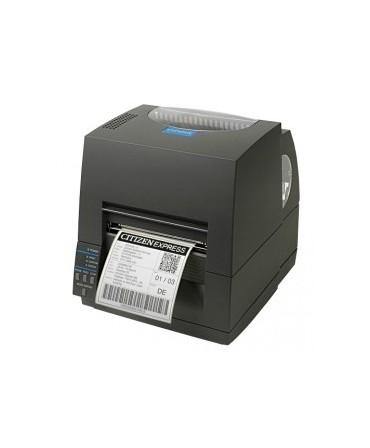 CLS621IINEBXXEP Citizen CL-S621II, 8 punti /mm (203dpi), EPL, ZPL, Datamax, Multi-IF (Ethernet, Premium), nero