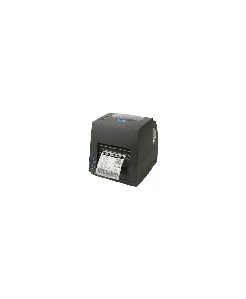 CLS631IINEBXX Citizen CL-S631II, 12 punti /mm (300dpi), EPL, ZPL, Datamax, Dual-IF, nero