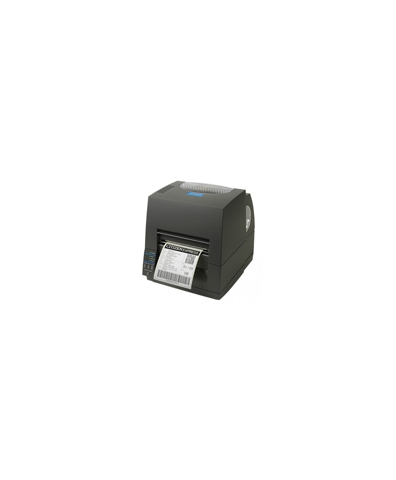 CLS631IINEBXXEP Citizen CL-S631II, 12 punti /mm (300dpi), EPL, ZPL, Datamax, Multi-IF (Ethernet, Premium), nero